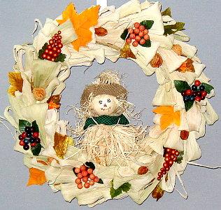 """straw wreath 14"""""""